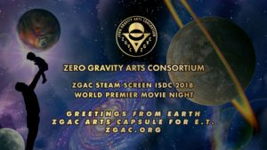 ZGAC STEAM SCREEN - ISDC2017 MOVIE NIGHT Friday, May 26, 2017, 9:30 PM, St. Louis Union Station Hotel Grand Ballroom. World Premiere highlights of Academy of Art University Web Design New Media School motion graphic designers celebrated during the proceedings of the National Space Society's 37th International Space Development Conference during ZGAC STEAM SCREEN ISDC2017 MOVIE NIGHT