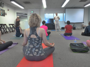 Yoga For Space Health sponsored by Taksha Institute